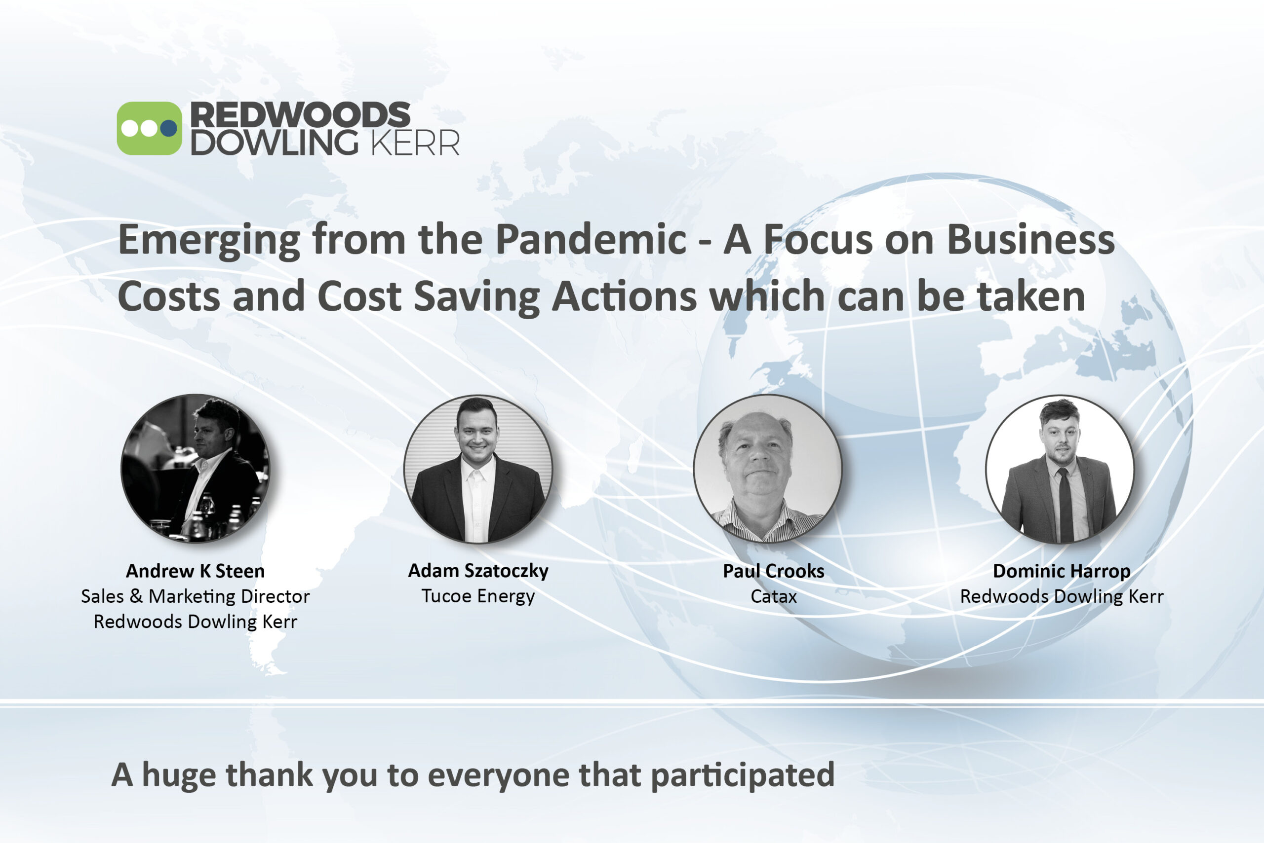 Emerging from the Pandemic – A Focus on Business Costs and Cost Saving Actions which can be taken