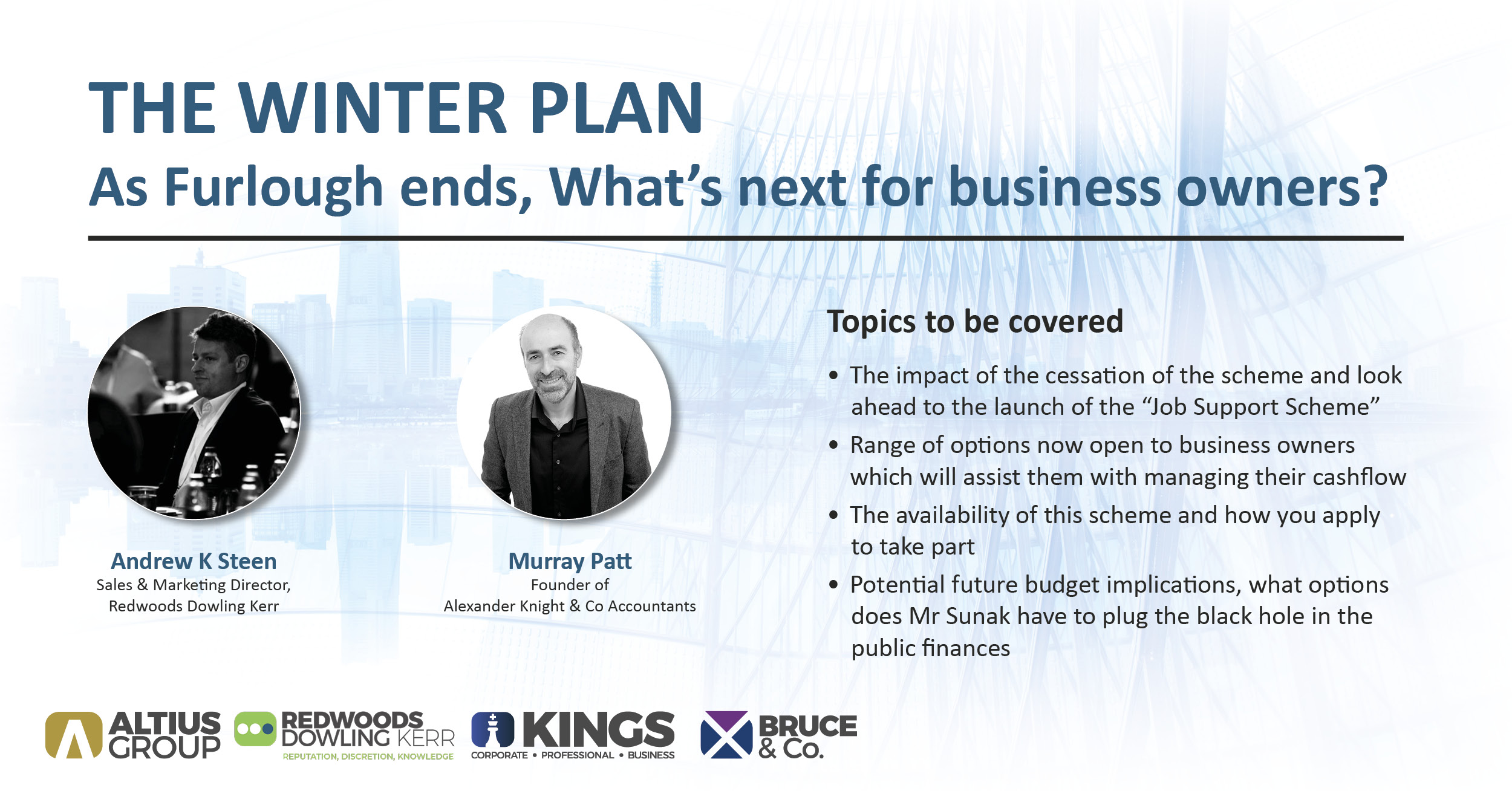 RDK Webinar – As Furlough ends, what's next for business owners?